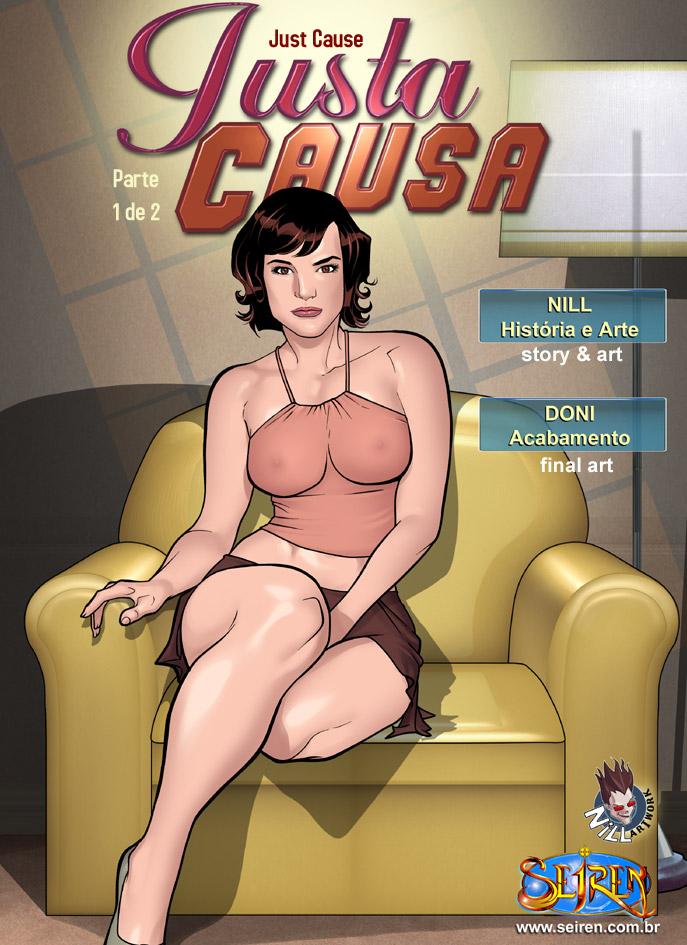 Justa causa – Contos eróticos em quadrinhos