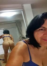 Vovó safada pelada em fotos caiu na net