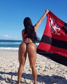 Musas do Flamengo nuas e peladas em fotos amadoras