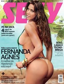 Fernanda Agnes nua na revista porno grátis