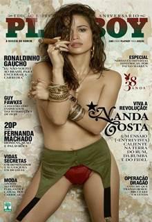Nanda Costa pelada atriz da Globo nua – Playboy Nacional Agosto 2014