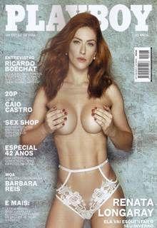 Renata Longaray pelada na Revista Playboy de Inverno de 2017