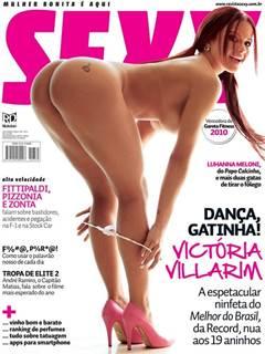 Victoria Villarim nua pelada a ex do Eduardo Costa