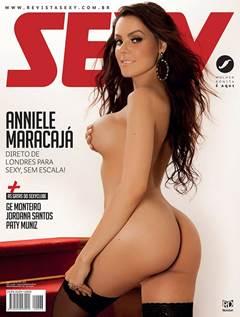 Anniele Maracajá Nua na Revista Sexy de Maio de 2019