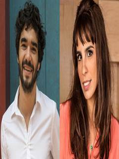 Maria Ribeiro e Caio Blat transando gostoso