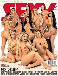 Iara Ferreira nua + Pimentinhas na Revista Sexy de Novembro de 2020