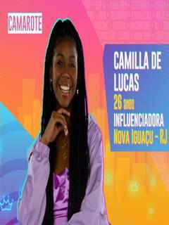 BBB21: Camilla de Lucas mostrando os peitinhos