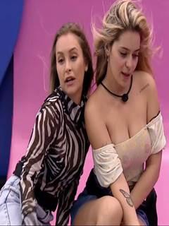 BBB21: Carla Diaz e Viih Tube nuas